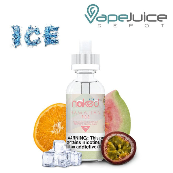 Naked 100 Ice Hawaiian POG Ice - VapeJuiceDepot