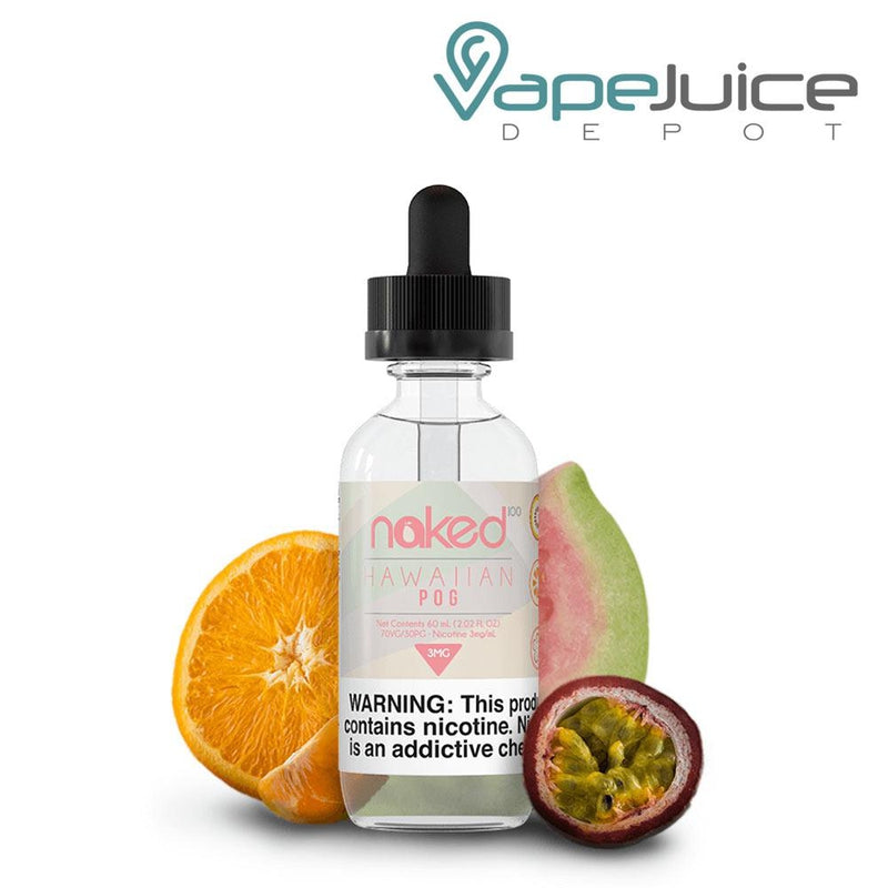 Naked 100 Hawaiian POG e-Liquid 60ml - VapeJuiceDepot