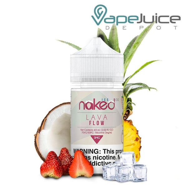 Naked 100 Ice Lava Flow Ice 60ml - VapeJuiceDepot