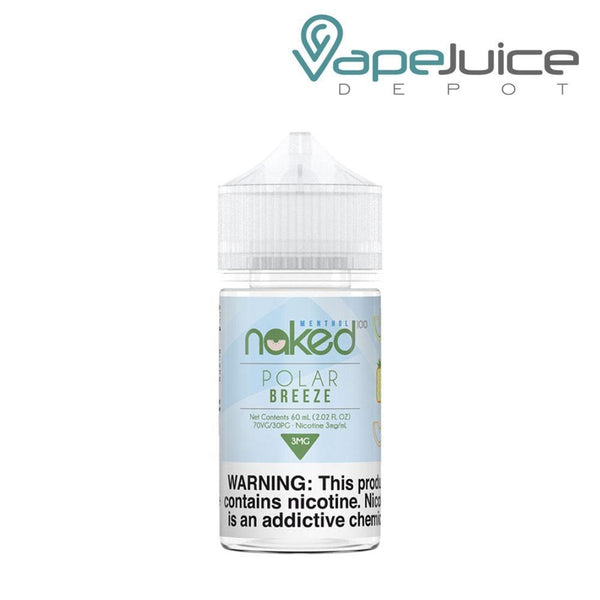 Naked 100 Menthol Polar Breeze eLiquid 60ml - Vape Juice Depot