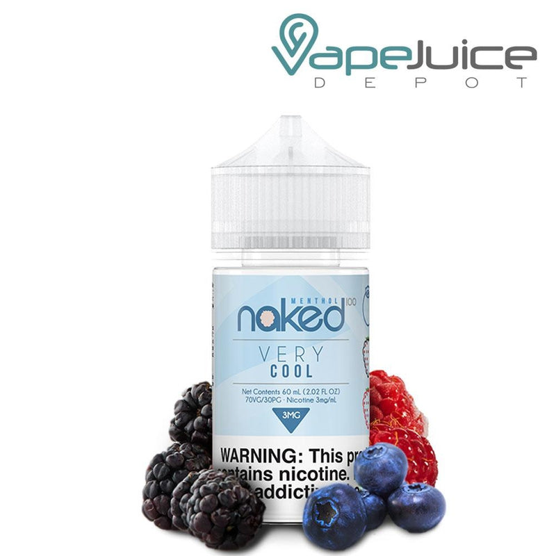 Naked 100 Menthol Very Cool eLiquid 60ml - FREE Shipping