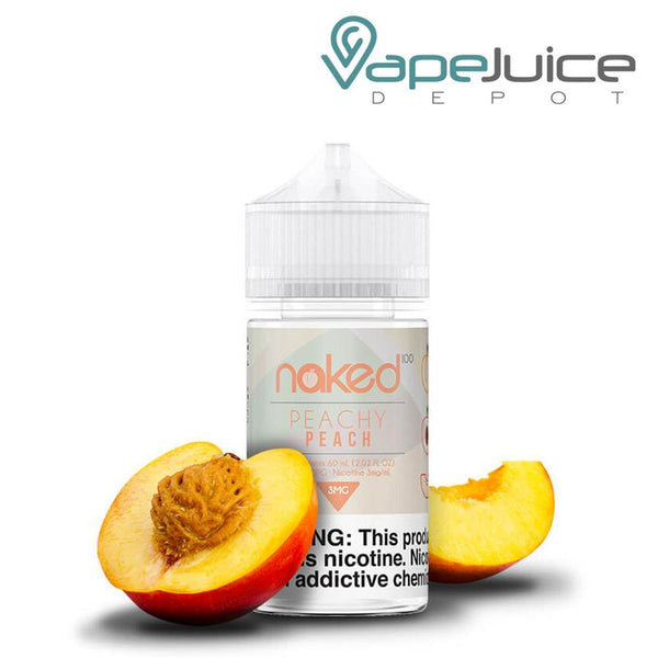 Naked 100 Peach eLiquid 60ml - Vape Juice Depot