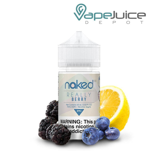 Naked 100 Really Berry eLiquid 60ml - VapeJuiceDepot
