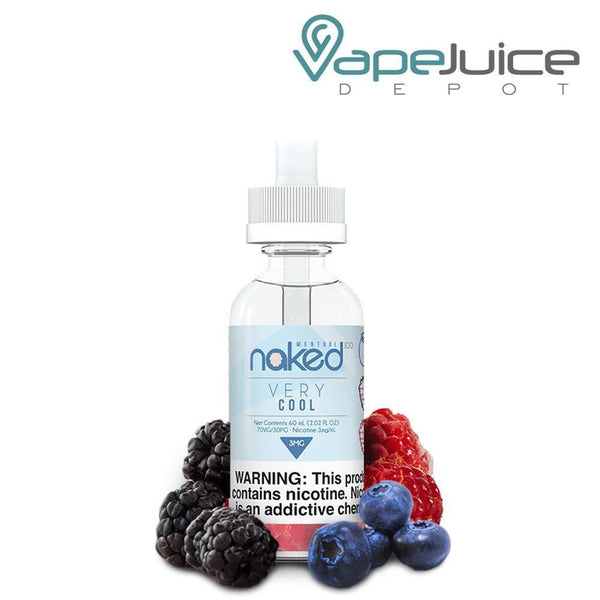 Naked 100 Menthol Very Cool e-Liquid 60ml - VapeJuiceDepot