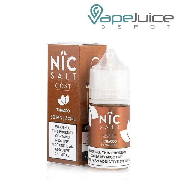 NiC Salt - Tobacco by GOST Vapor 30ml - Vape Juice Depot