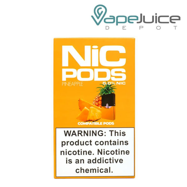 NiC Pods Pineapple JUUL Compatible - FREE Shipping