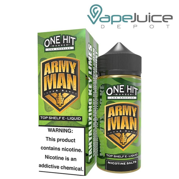 One Hit Wonder Army Man eLiquid 100ml - VapeJuiceDepot