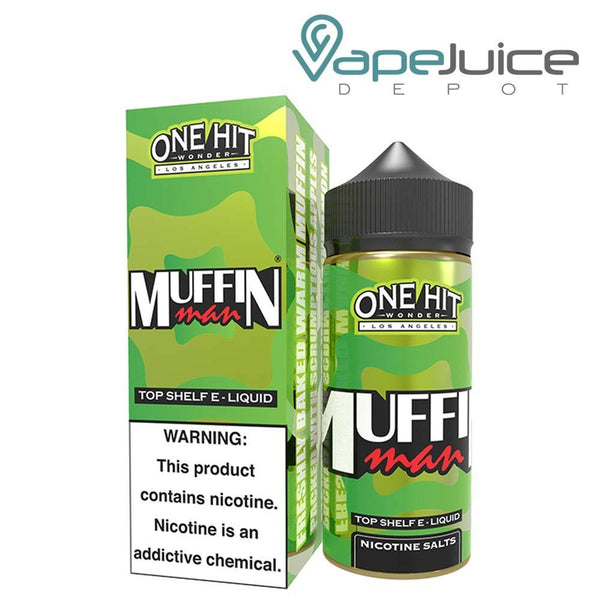 One Hit Wonder The Muffin Man eLiquid 100ml - VapeJuiceDepot