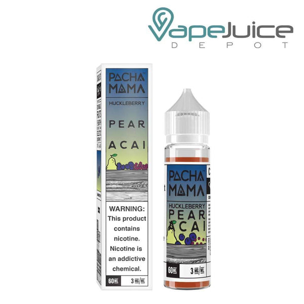 PachaMama Huckleberry Pear Acai 60ml - Vape Juice Depot