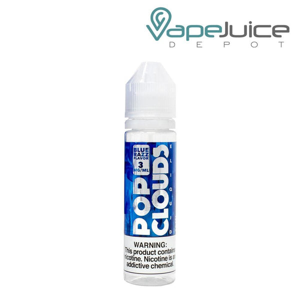 Pop Clouds Blue Razz - Vape Juice Depot