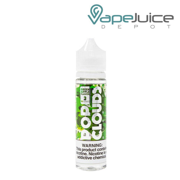 Pop Clouds Green Apple eLiquid - Vape Juice Depot