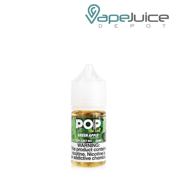 Pop Clouds The Salt Green Apple eLiquid 30ml - Vape Juice Depot
