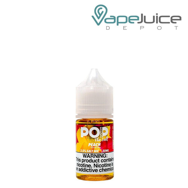 Pop Clouds The Salt Peach Please eLiquid 30ml - Vape Juice Depot