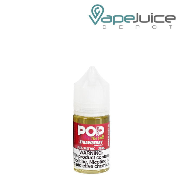 Pop Clouds The Salt Strawberry eLiquid 30ml - Vape Juice Depot