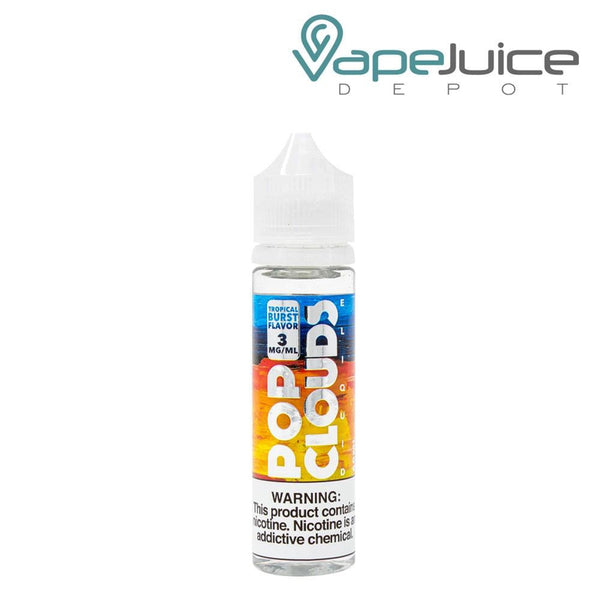 Pop Clouds Tropical Burst eLiquid - Vape Juice Depot