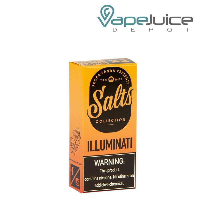 Propaganda Salts iLLUMINATi eLiquid 30ml - Vape Juice Depot