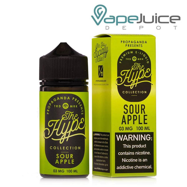 Propaganda The Hype SOUR APPLE DUST 60ml - Vape Juice Depot