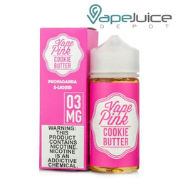 Vape Pink Cookie Butter eLiquid by Propaganda - FREE Shipping