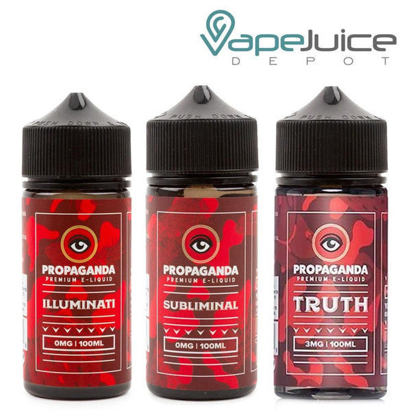 Propaganda Premium eLiquid BUNDLE 3x 100ml - Vape Juice Depot