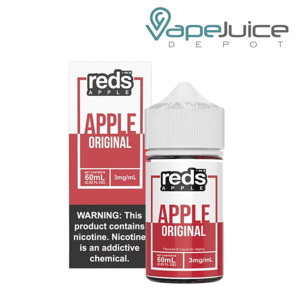 REDS Apple EJuice 60ml - Vape Juice Depot