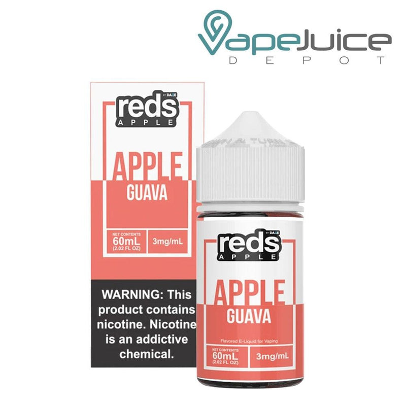 Reds Guava Apple by 7 Daze - Vape Juice Depot