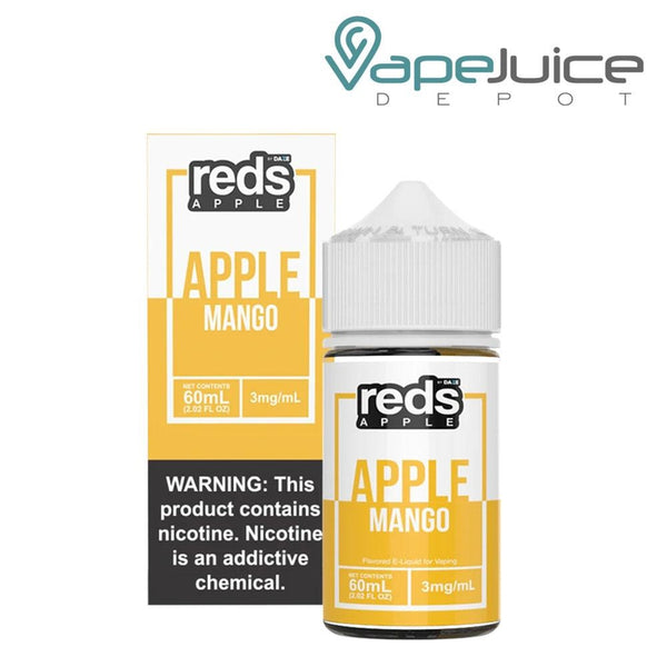 Reds Apple eJuice Mango by 7 Daze - Vape Juice Depot