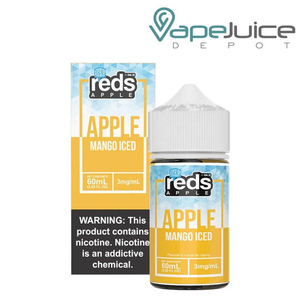 Reds Iced Apple eJuice Mango by 7 Daze - Vape Juice Depot