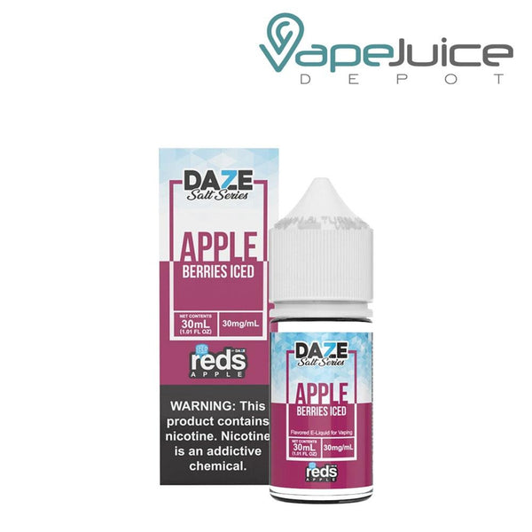 REDS SALT BERRIES ICED by 7 DAZE 30mg - Vape Juice Depot
