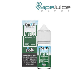 REDS SALT WATERMELON ICED by 7 DAZE 30mg - Vape Juice Depot