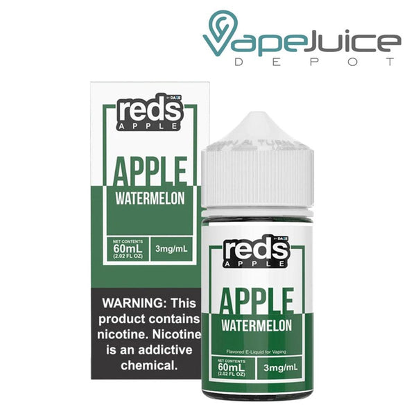 REDS EJUICE WATERMELON APPLE 60ml - Vape Juice Depot