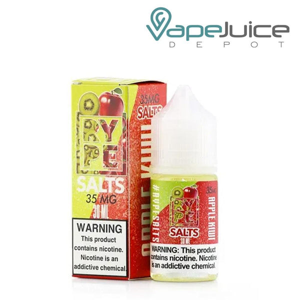 RYPE Salts Apple Kiwi eLiquid 30ml - Vape Juice Depot