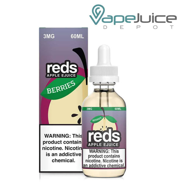 Reds Apple EJuice Berries - Vape Juice Depot
