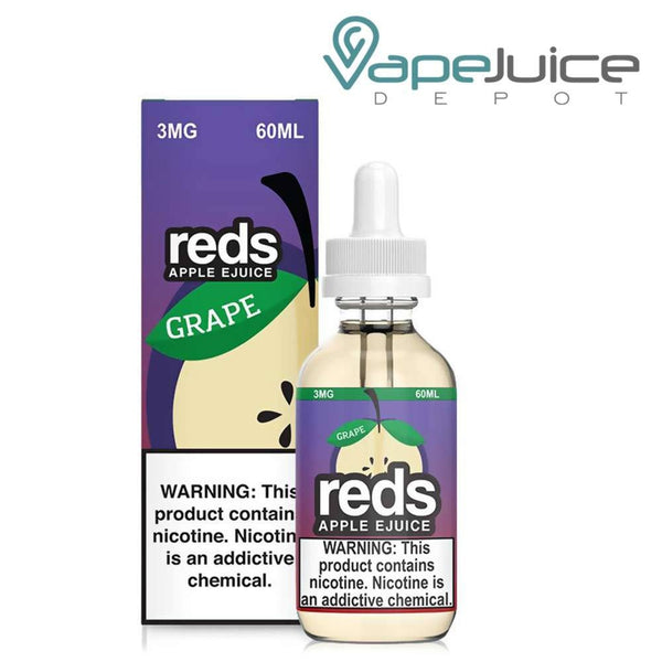 REDS EJUICE GRAPE APPLE 60ml - Vape Juice Depot