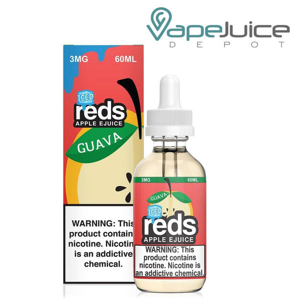 Reds ICED Guava Apple eJuice by 7 Daze - Vape Juice Depot