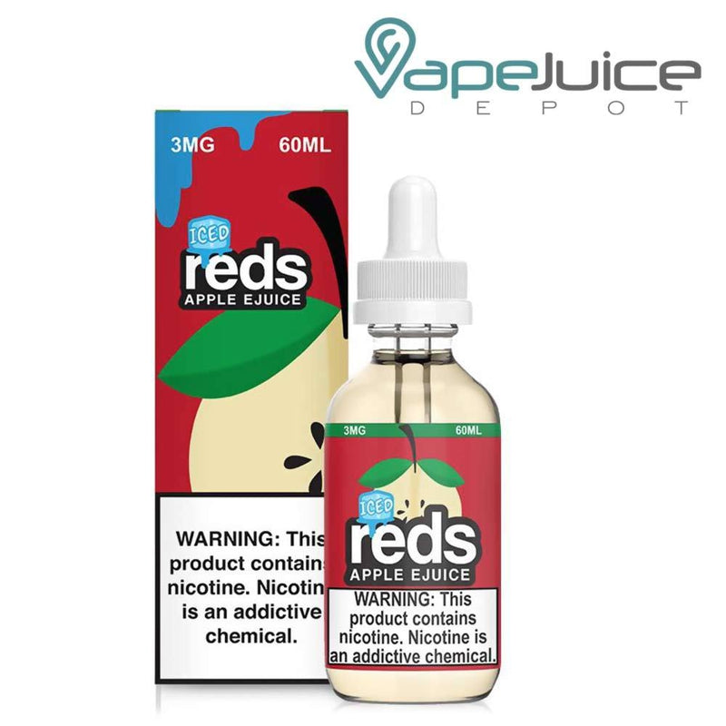 REDS ICED EJUICE APPLE 60ml - VapeJuiceDepot