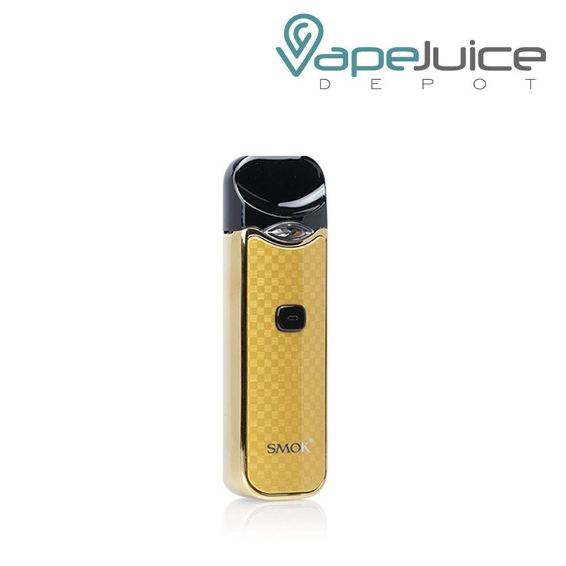 SMOK NORD CARBON Fiber GOLD Pod System - FREE Shipping