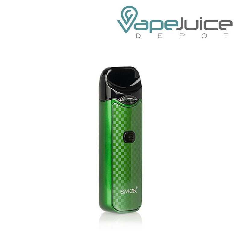 SMOK NORD CARBON Fiber GREEN Pod System - FREE Shipping