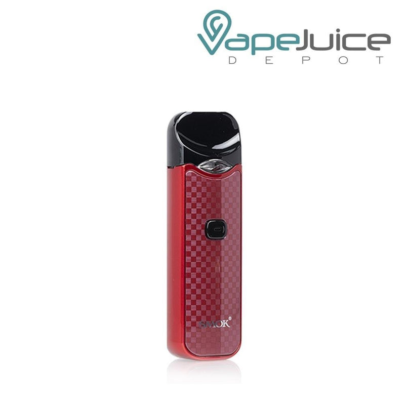 SMOK NORD CARBON Fiber RED Pod System - FREE Shipping