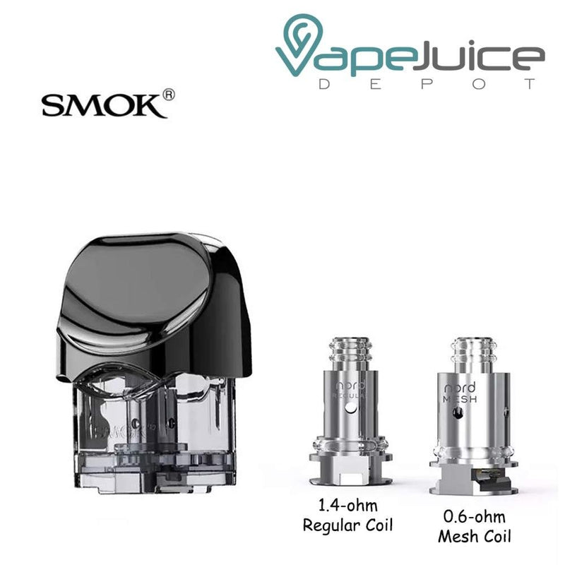 SMOK NORD Replacement Pod Cartridge Coils - VapeJuiceDepot