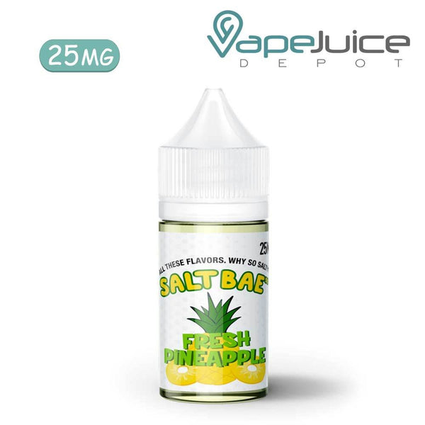 SaltBae50 Fresh Pineapple eLiquid 25mg - VapeJuiceDepot