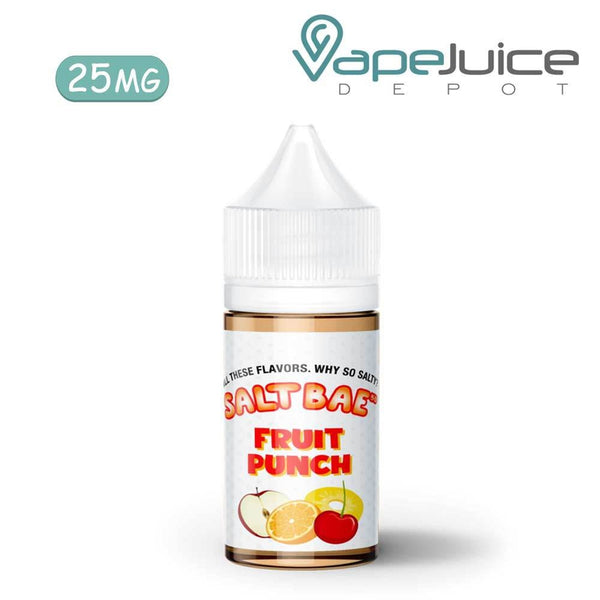 Salt Bae Fruit Punch eLiquid 30ml - Vape Juice Depot