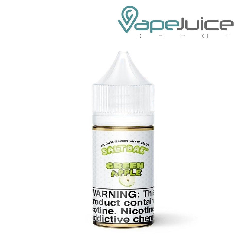 Salt Bae Green Apple e-Liquid | 30ml - Vape Juice Depot