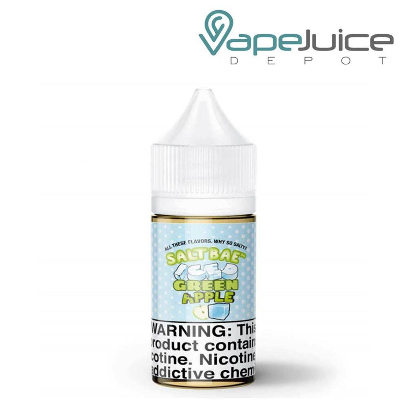 Salt Bae ICED Green Apple eLiquid 30ml - Vape Juice Depot
