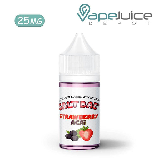SaltBae50 Strawberry Acai eLiquid 25mg - VapeJuiceDepot