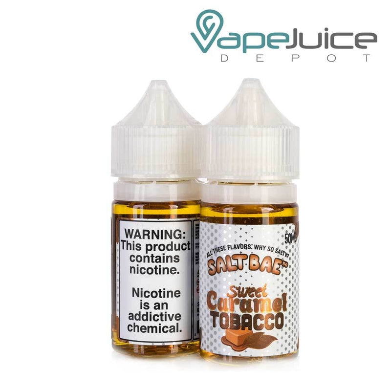 Salt Bae 50 Sweet Caramel Tobacco e-Liquid 30ml - Vape Juice Depot