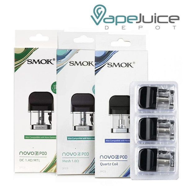 SMOK Novo 2 Replacement Pods - Vape Juice Depot