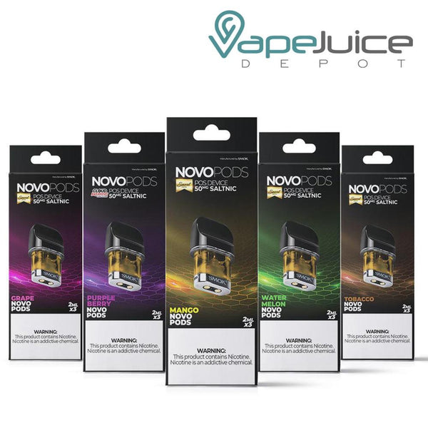 SMOK Novo Pre-Filled Pods PURPLE BERRY - VapeJuiceDepot