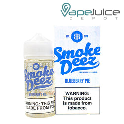 Smoke Deez Blueberry Pie eLiquid 100ml - FREE Shipping