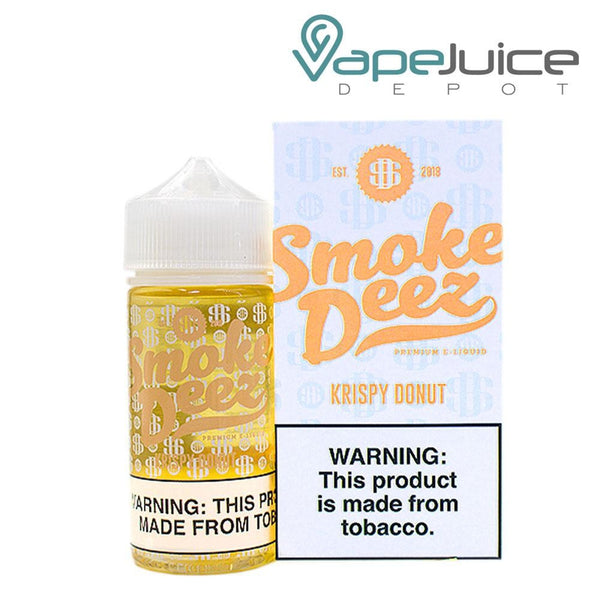 Smoke Deez Krispy Donut eLiquid 100ml - Vape Juice Depot