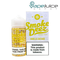 Smoke Deez Vanilla Custard eLiquid 100ml - Vae Juice Depot
